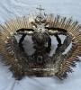 Resturacion Corona de Plata del sigloXII
